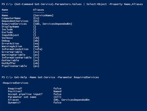 Powershell Tip #34: List parameter aliases for a cmdlet