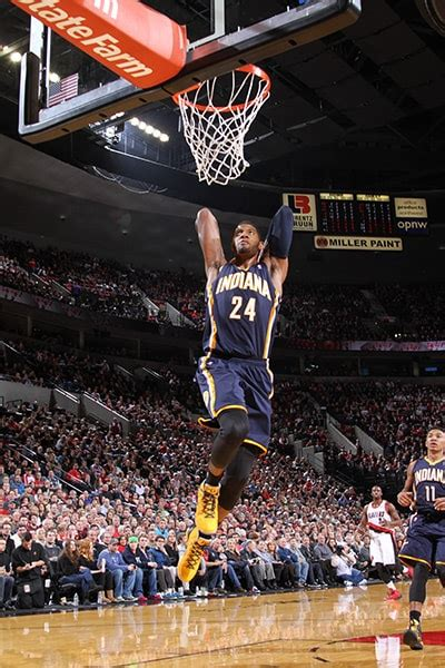 Paul George Slam Dunk Gallery   Indiana Pacers