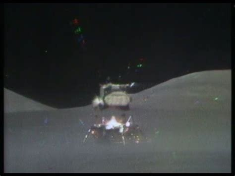 Last Takeoff from the Moon - Apollo 17's Lunar Module