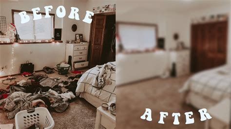 cleaning my messy room!!! - YouTube