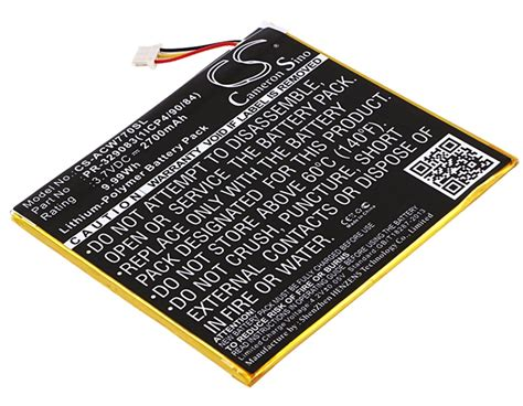 Acer Iconia One 7 B1-770 replacement battery, Canadian