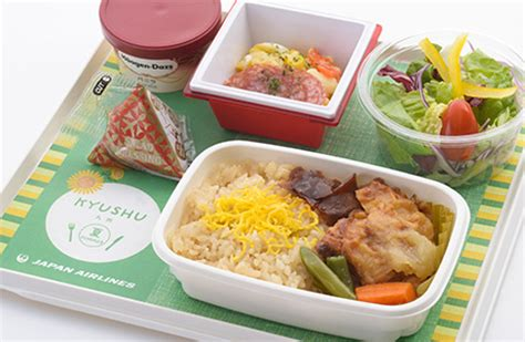 Inflight dining (JAL Economy Class) - JAL International