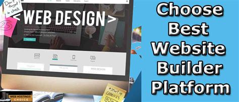 Fast and Easy Website Builder- Web Hosting Choice March 2020