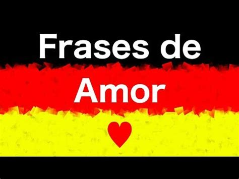 10 phrases / sentences about - LOVE - in German - YouTube