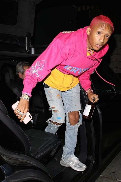 Jaden Smith at 21st B-Day Bash After Quitting
