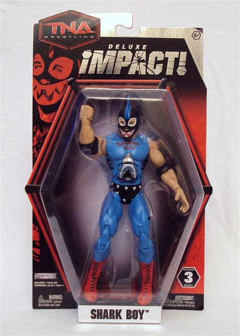 3B's Toy Hive: TNA Deluxe Impact!, Shark Boy - Review