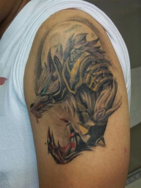 Warwick Champion of League of Legends Tattoo | Tatoo