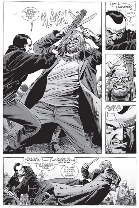 Negan VS Beta (The Walking Dead) – Comicnewbies