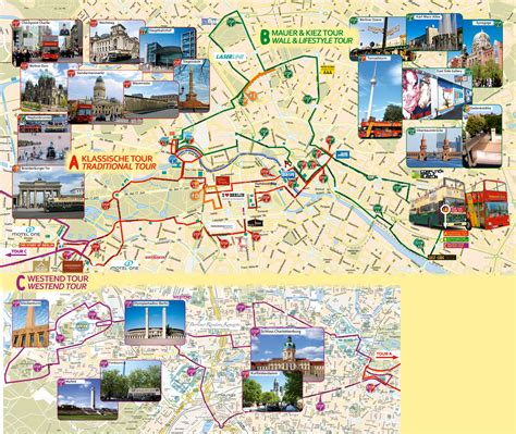 Berlin Attractions Map PDF - FREE Printable Tourist Map