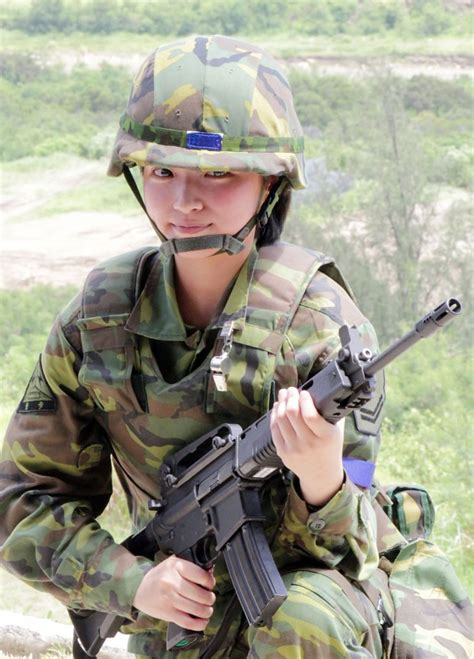 Taiwanese Female Soldier (PR China) image - Females In
