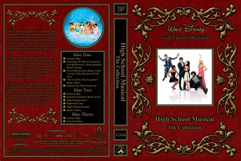 High School Musical DVD Box Set Cover (With images)   High