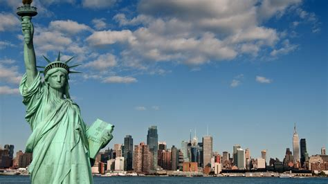 Statue Of Liberty Welcome To New York : Wallpapers13